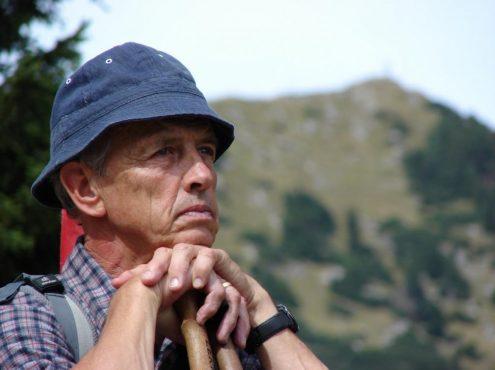 Egon Wagner als Wanderführer